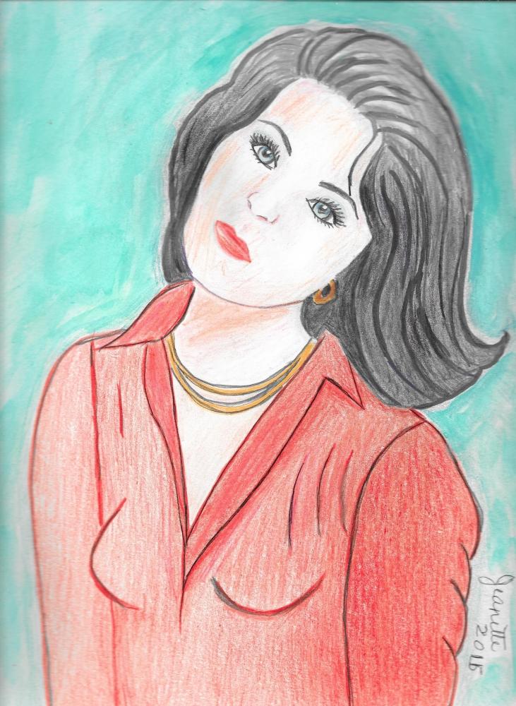 Elizabeth Taylor par Jeanette